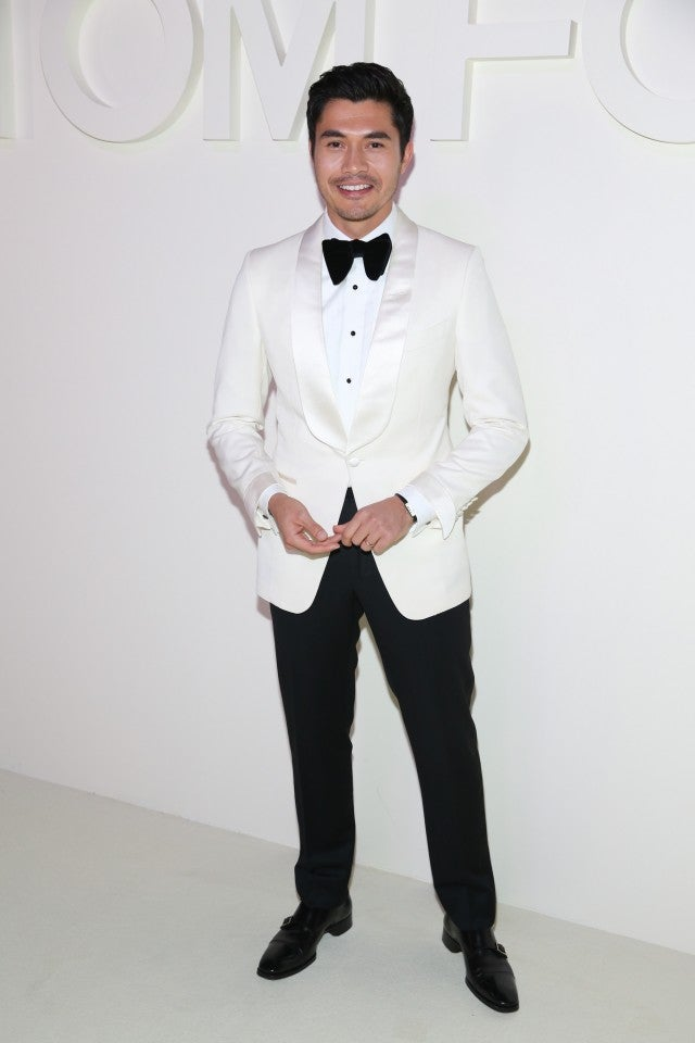 Henry Golding Tom Ford NYFW