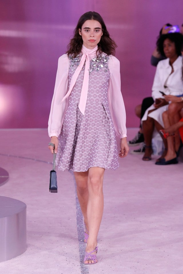 Kate Spade spring 2019 collection pink dress