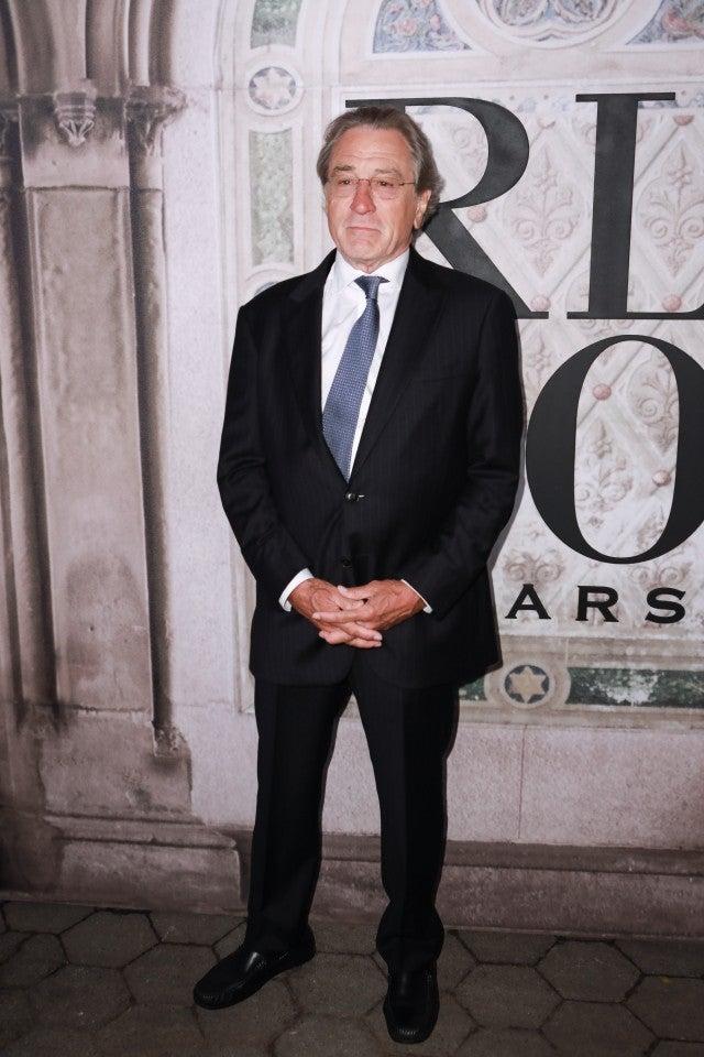 Robert De Niro Ralph Lauren show