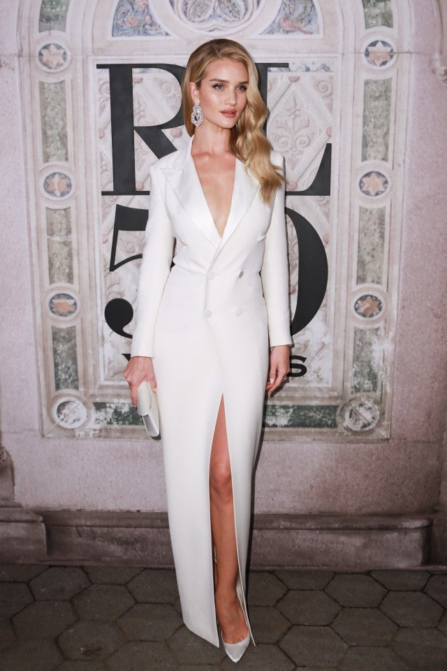 Rosie Huntington-Whiteley Ralph Lauren show