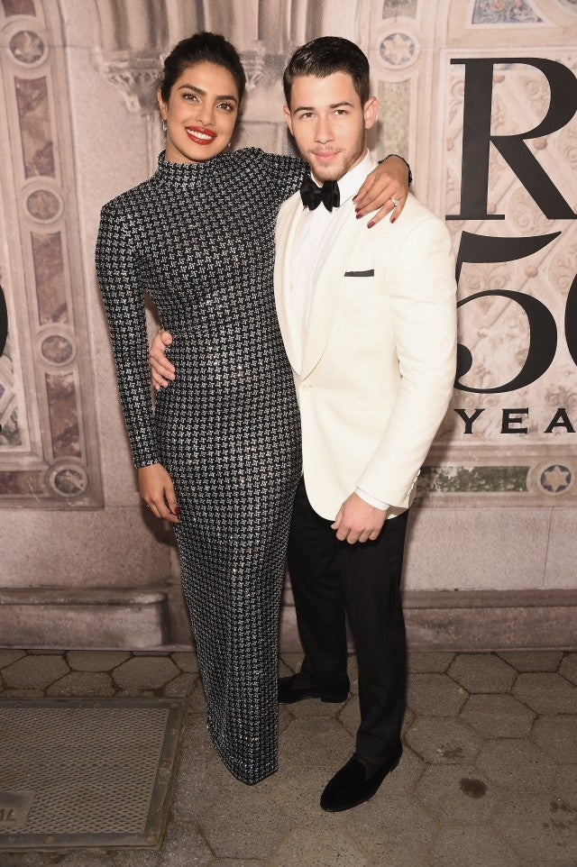 Priyanka Chopra and Nick Jonas Ralph Lauren show