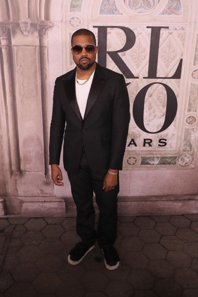 Kanye West Ralph Lauren show