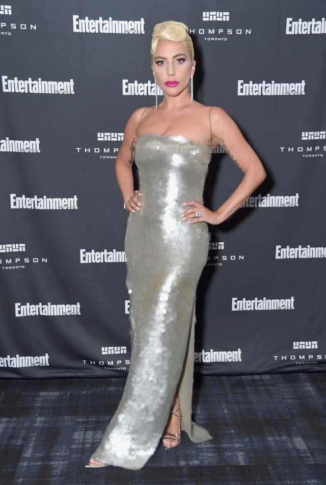 Lady Gaga Entertainment Weekly party TIFF