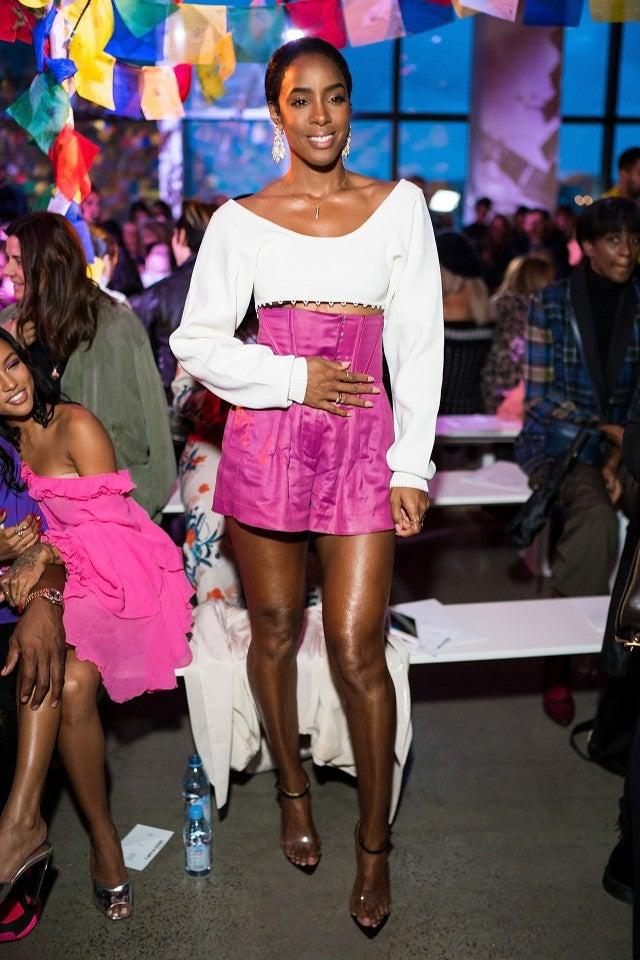 Kelly Rowland at Prabal Gurung show