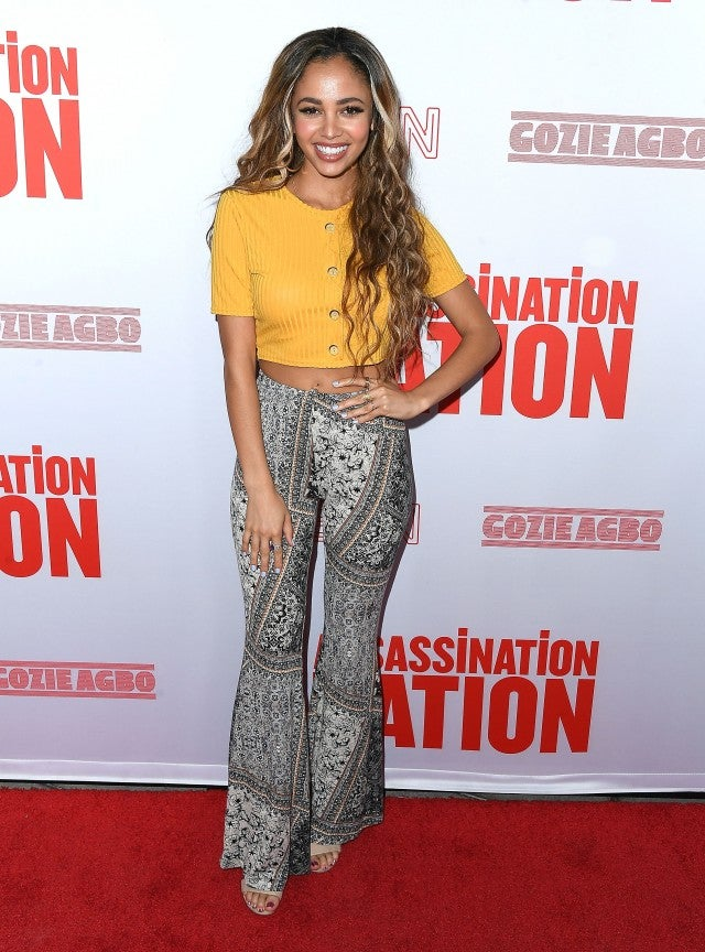 Vanessa Morgan Assassination Premiere