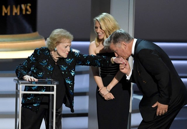 2018 Emmys, Betty White, Alec Baldwin