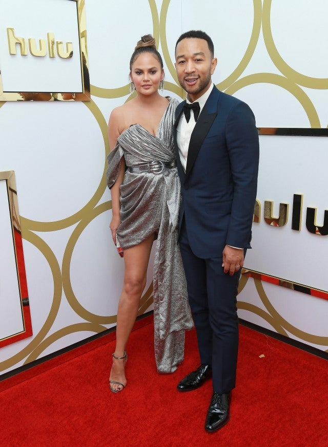 Chrissy Teigen and John Legend Emmys after party