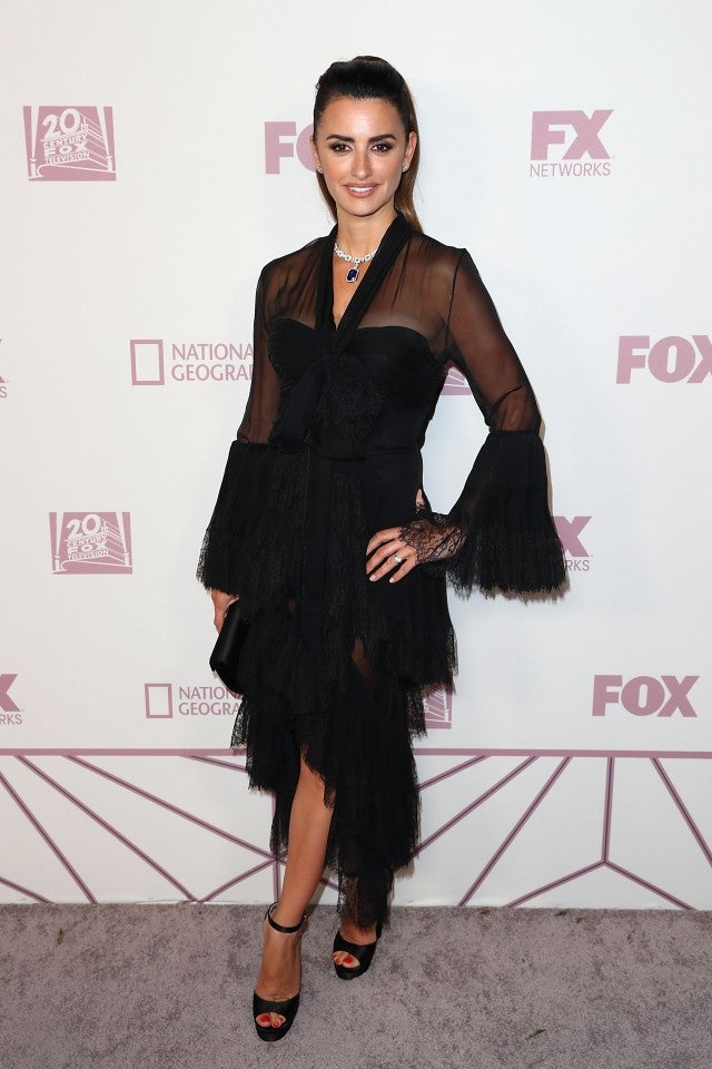 Penelope Cruz Emmys after party