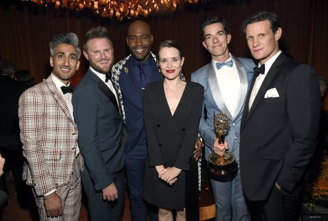 Claire Foy at Emmys after party