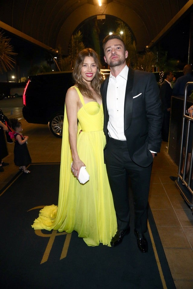 Jessica Biel and Justin Timberlake Emmys after party