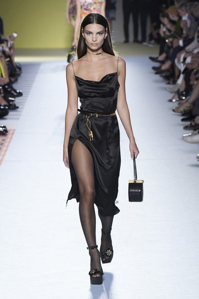 Emily Ratajkowski Versace