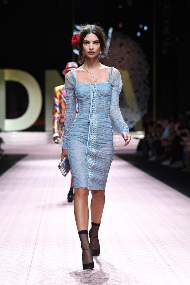 Emily Ratajkowski Dolce & Gabbana