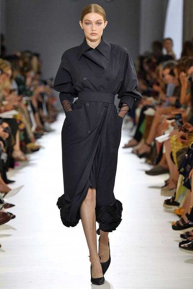 Gigi Hadid MaxMara runway