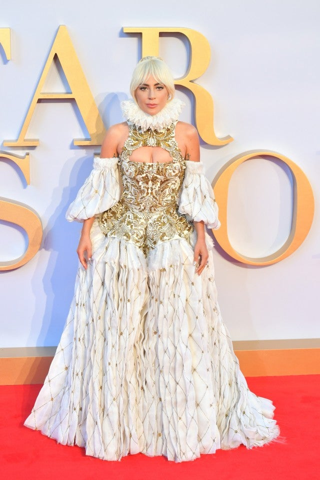 Lady Gaga London premiere of A Star Is Born