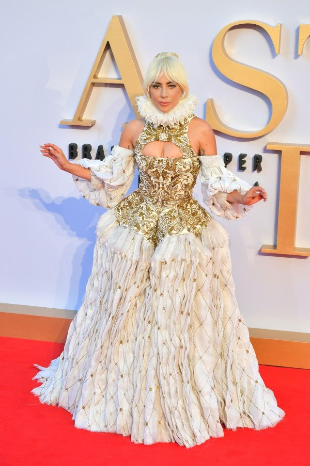 Lady Gaga London premiere
