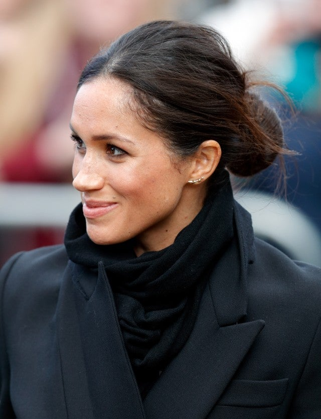 Meghan Markle in Gabriela Artigas earrings