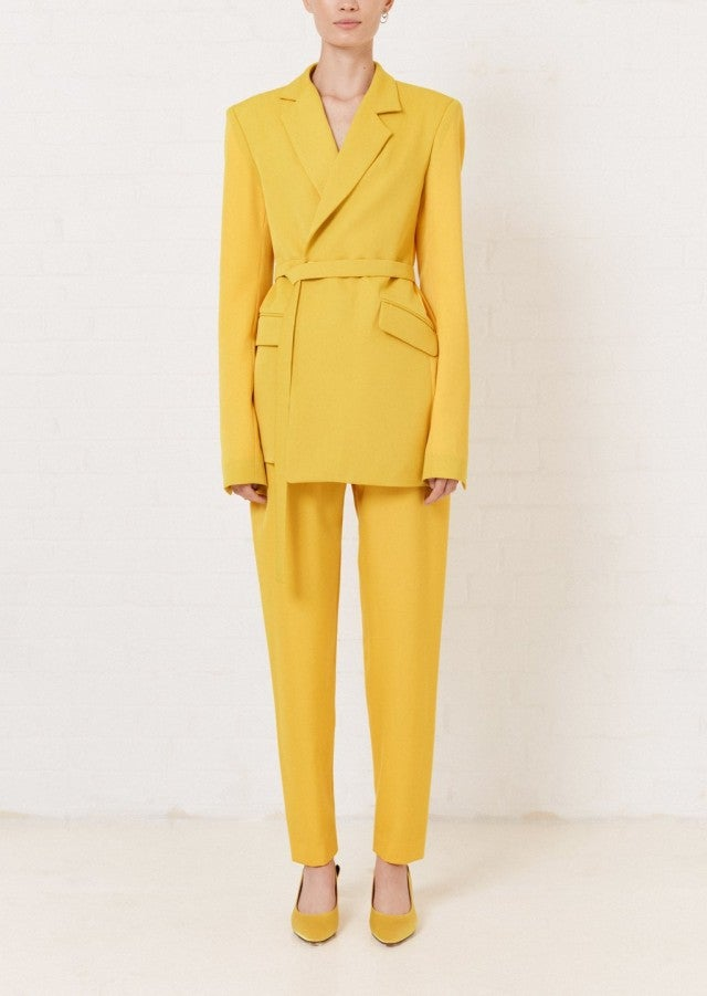House of Holland yellow suit