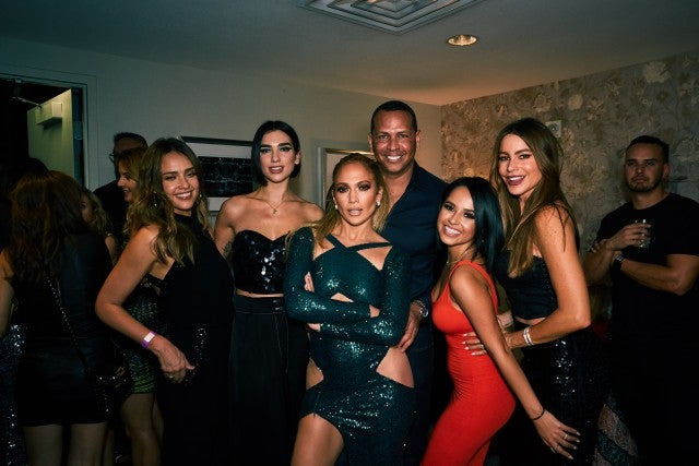Selena Gomez Joins Dua Lipa at Jennifer Lopez's Las Vegas Residency