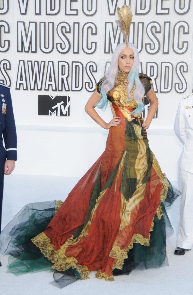 Lady Gaga attends the 2010 MTV Video Music Awards at the Nokia Theatre on September 12, 2010 in Los Angeles, CA.