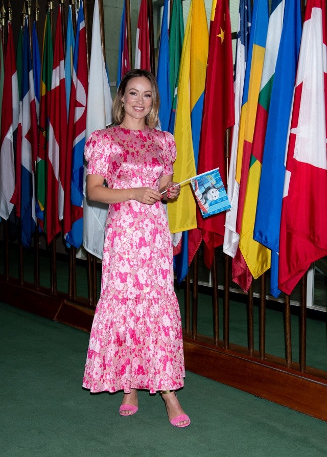 Olivia Wilde United Nations