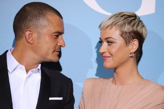 Katy Perry and Orlando Bloom make first red carpet appearance together
