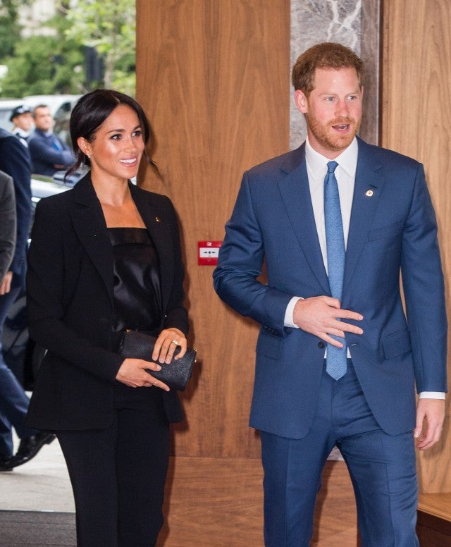 Prince Harry, Duke of Sussex and Meghan, Duchess of Sussex attend the WellChild awards at Royal Lancaster Hotel on September 4, 2018 in London, England.