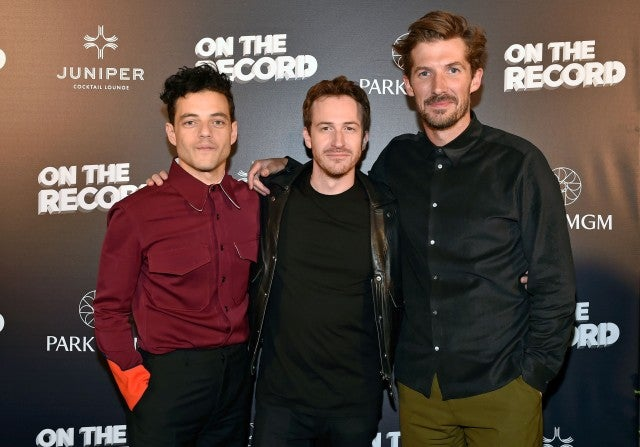 Rami Malek, Gwilym Lee and Joe Mazzello Juniper Lounge