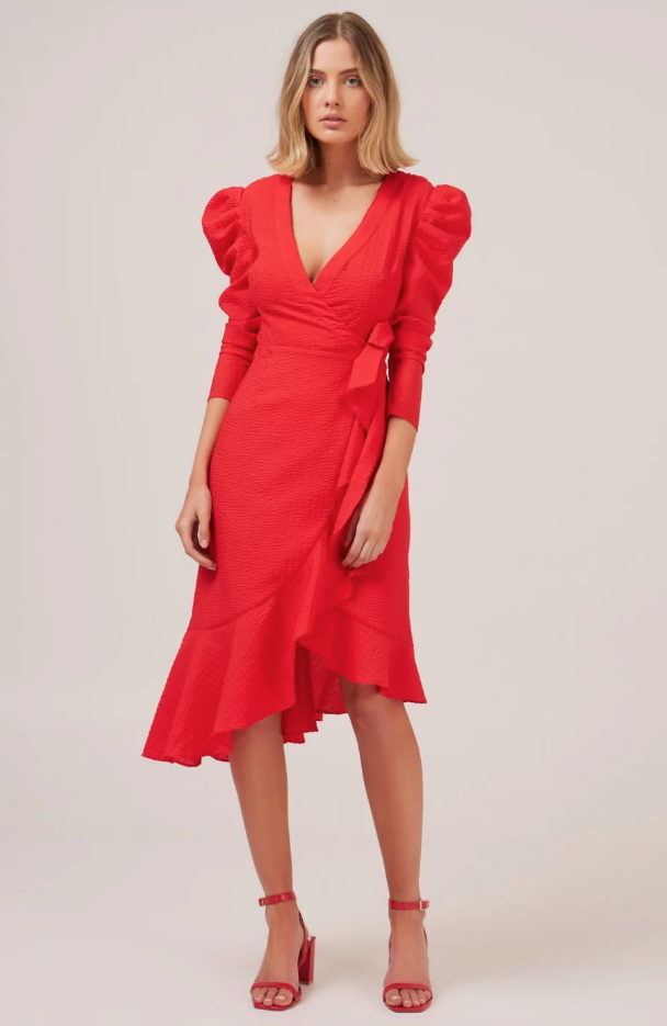 C/Meo Collective red dress