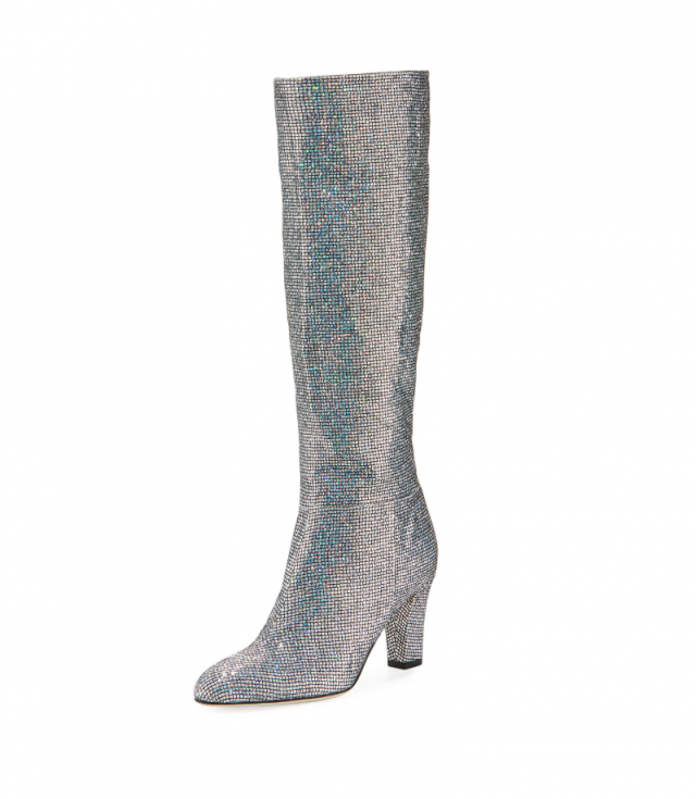 SJP sparkly boots