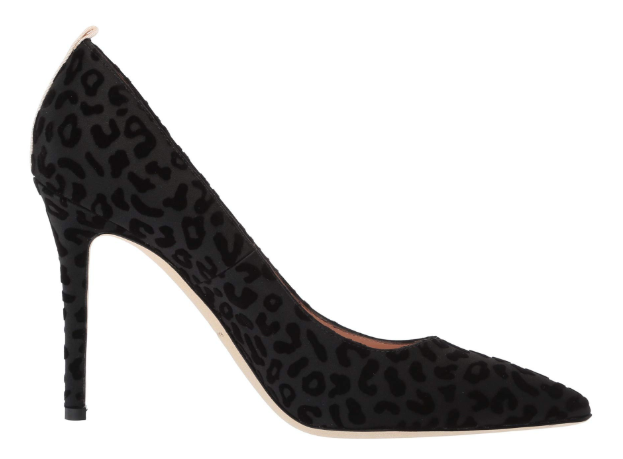SJP leopard pumps