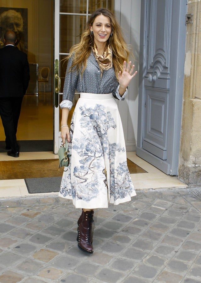 Blake Lively in Dior