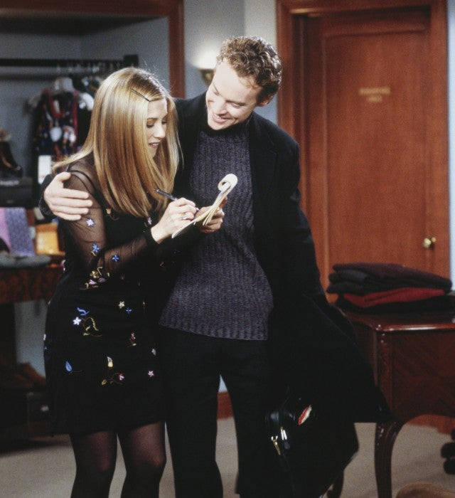 Jennifer Aniston, Tate Donovan, Friends