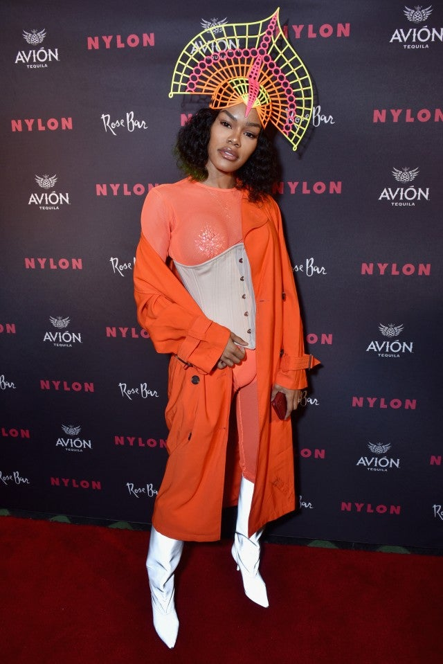 Teyana Taylor NYLON 2018 Rebel Fashion Party