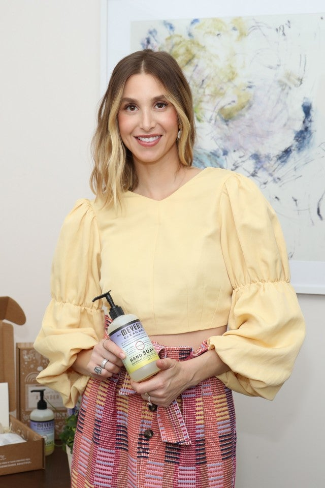 Whitney Port, Mrs. Meyer's Compassion Flower Hand Soap promo