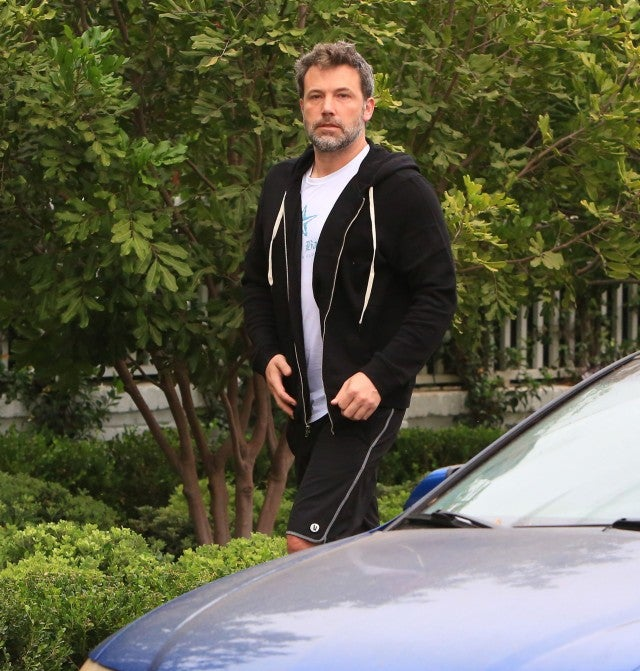 Ben Affleck is spotted for the first time since entering rehab.