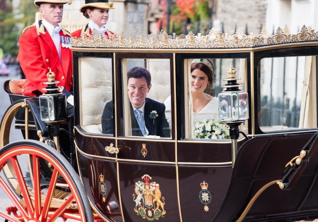 Princess Eugenie Carriage Ride
