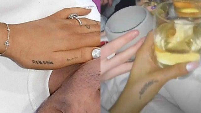 Ariana Grande Reborn Tattoos