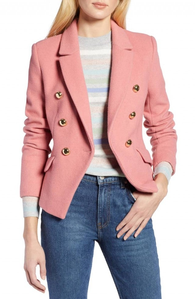 Atlantic-Pacific pink blazer