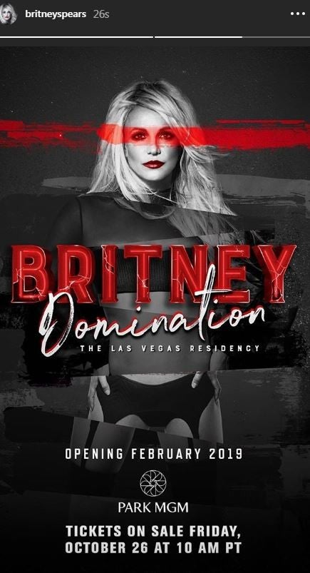 Britney Spears Domination Residency