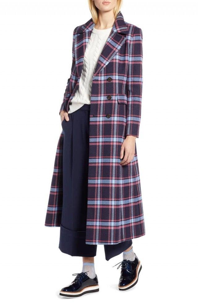 Atlantic-Pacific plaid coat