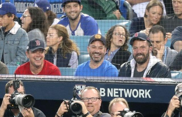 Matt Damon, Ben Affleck, Jimmy Kimmel