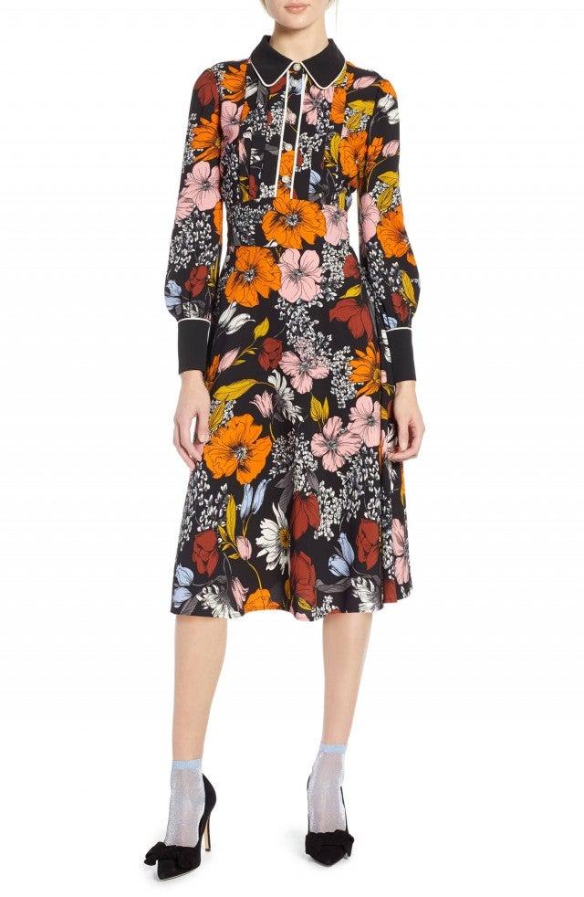 Atlantic-Pacific floral dress