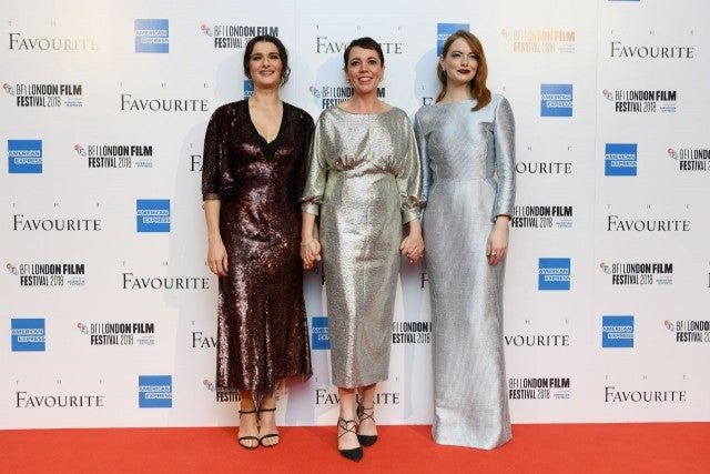 Rachel Weisz, Olivia Colman, Emma Stone