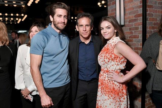 Jake Gyllenhaal, Ben Stiller, Ella Olivia Stiller