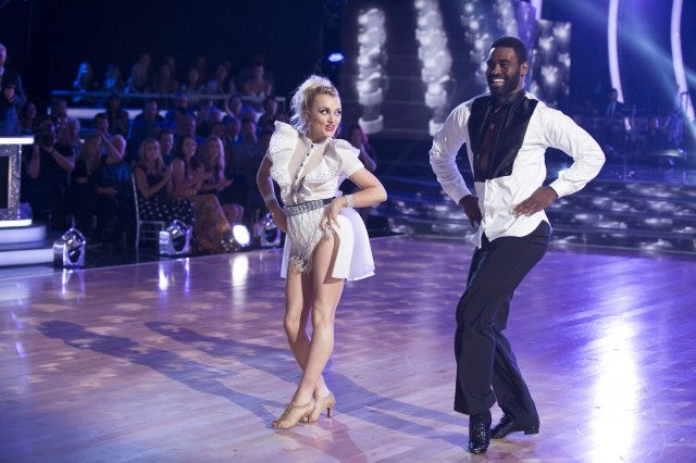 Evanna Lynch KEO MOTSEPE Dancing With the Stars