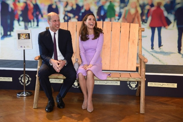 Prince William Makes a Corny Dad Joke at Kate Middleton's Expense