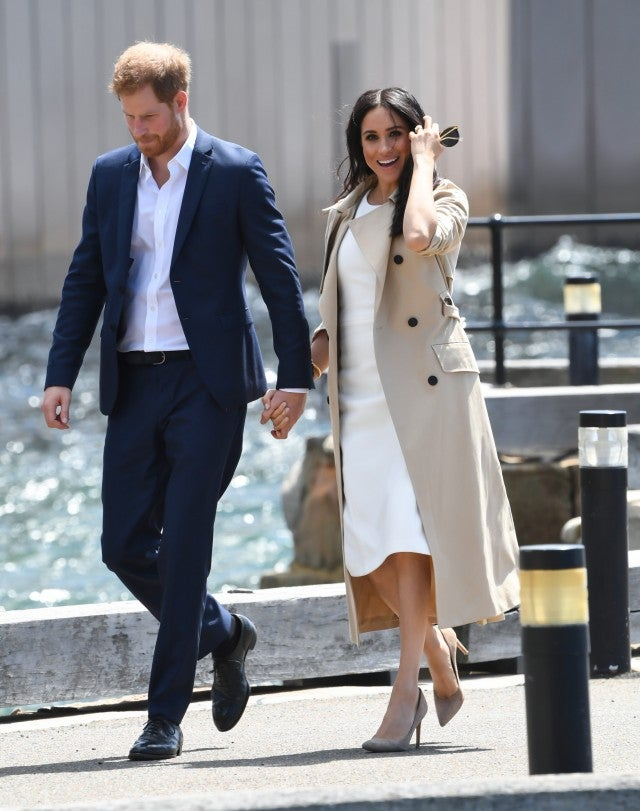 Prince Harry and Meghan Markle Australia
