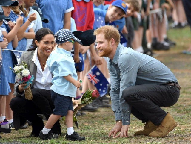 Australian boy's 'infatuation' with Prince Harry's beard is adorable