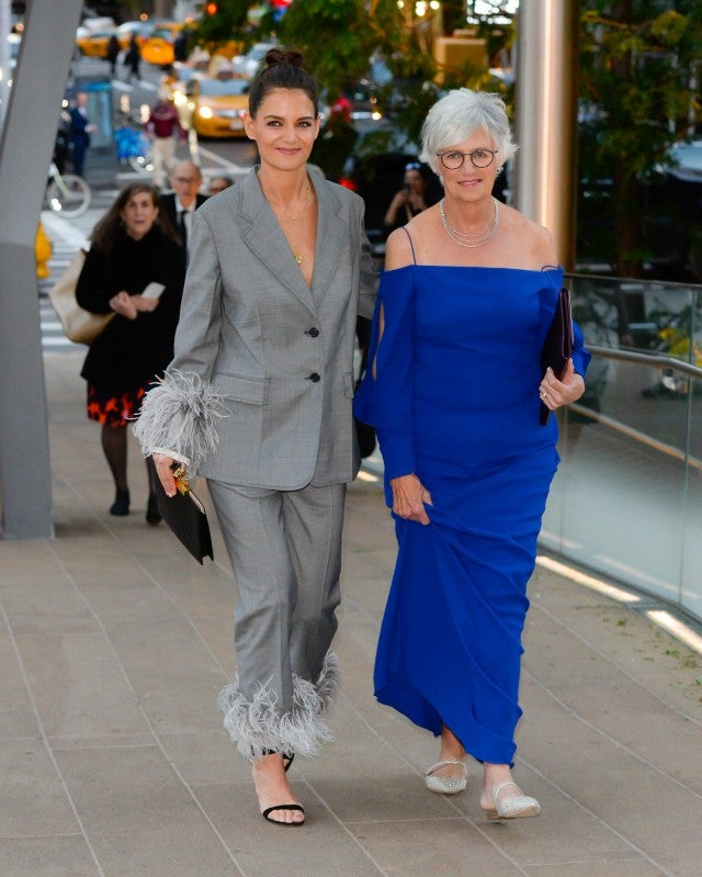 Katie Holmes and her mom