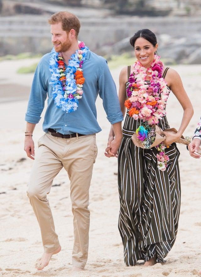 Meghan MArkle Prince Harry Sydney Beach